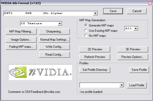 nVidia DDS IO Plugin for Photoshop 1 0b - Форум